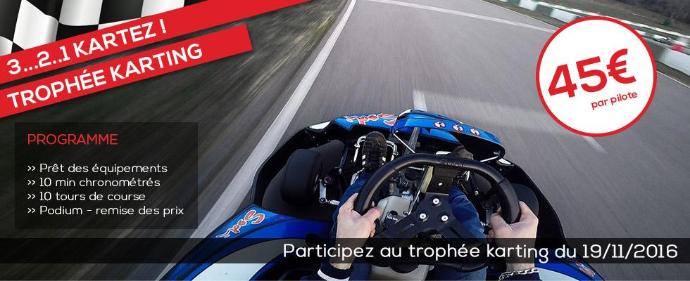 trophée karting du Laquais