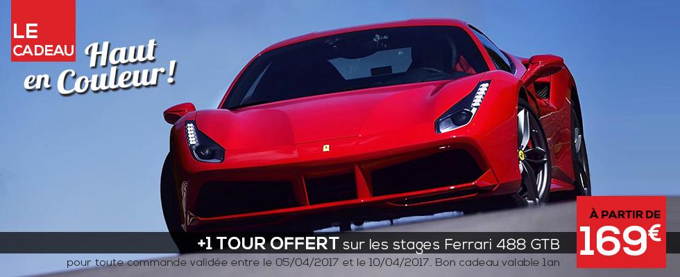 Stage de pilotage Ferrari 488 GTB