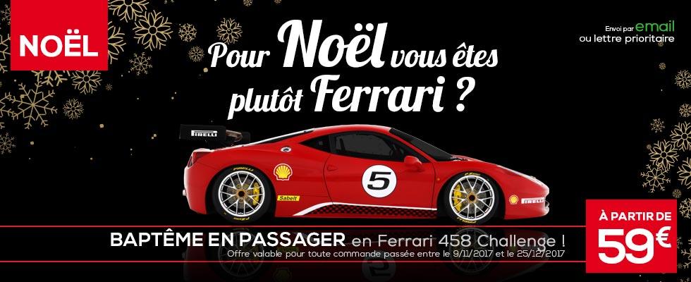 Baptême Ferrari 458 Challenge