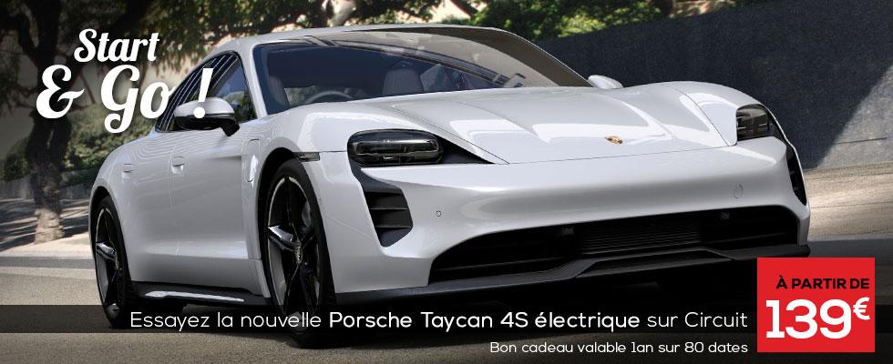 Porsche Taycan 4S au Circuit du Laquais