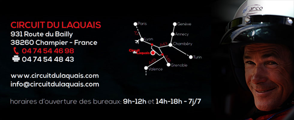 Coordonnées Circuit du Laquais