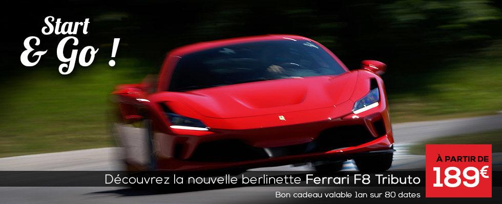 stage Ferrari F8 Tributo